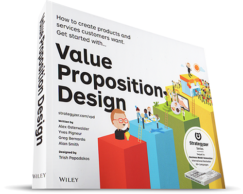 Business Model Generation Book Cover ~ Value proposition design par a osterwalder y pigneur